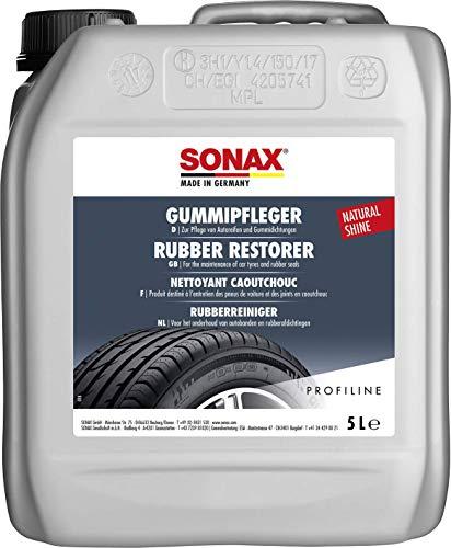 SONAX PROFILINE GummiPfleger (5 Liter) reinigt und pflegt alle Gummiteile am Auto und hält sie elastisch | Art-Nr. 03405050