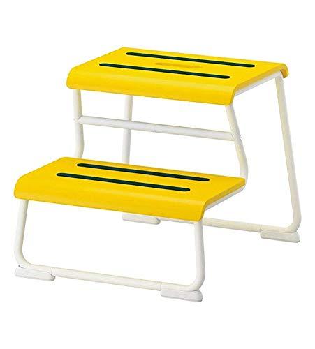 ZXL@ED Taburete con escalones multifunción Silla para niños La cocina es muy simple Escalera de dos escalones jgh