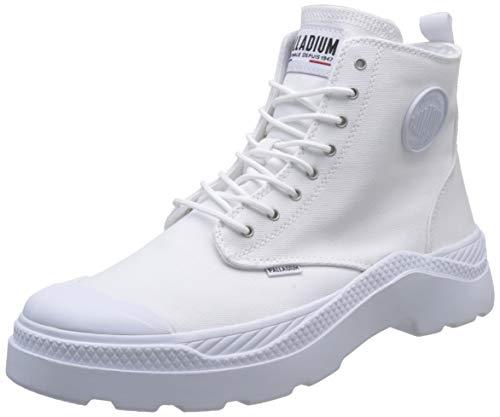 Palladium Unisex-Erwachsene Plkix Hi CVS U Hohe Sneaker, Weiß (White 420), 39 EU