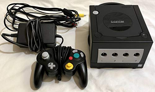 Nintendo Gamecube System Console - Jet Black (Renewed)
