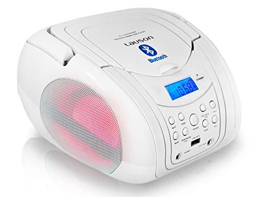 Radio Despertador Bluetooth Usb Marca Lauson