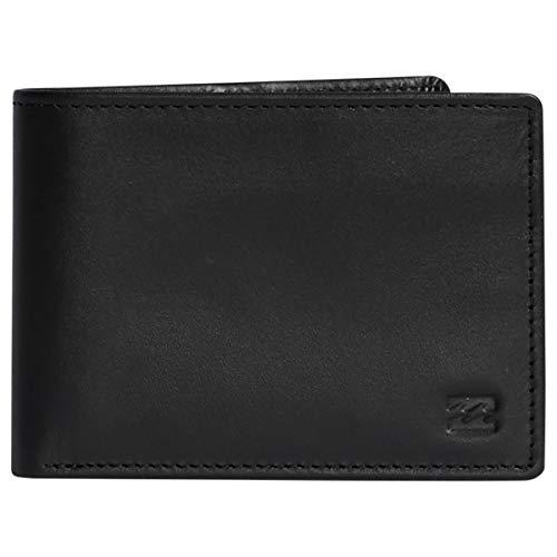 BILLABONG Herren Vacant Leather for Men Travel Accessories Tri-Fold Wallet, Schwarz, Einheitsgröße