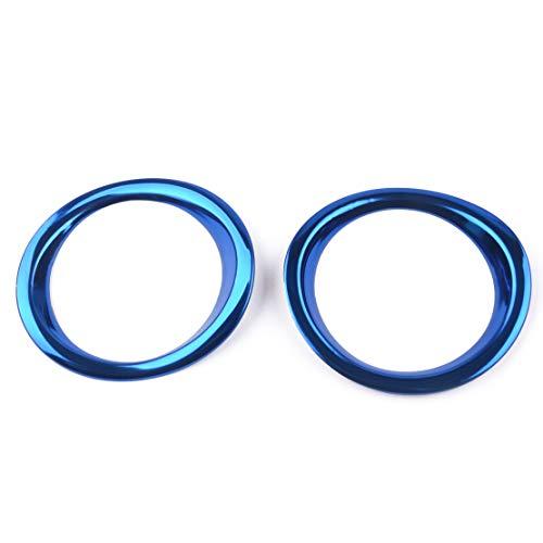 beler 2pcs bleu climatisation climatisation tableau de bord prise d'air sortie garniture