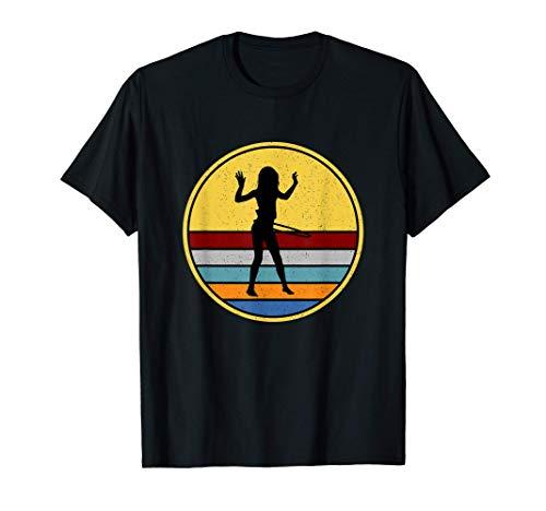 Hulahoop Hula Fitness Reifen Hoop Sport Hullern Geschenk T-Shirt