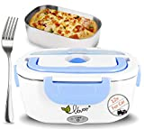 Car Heated Lunch Box for Men Women Kids, 12V Portable Electric Food Warmer