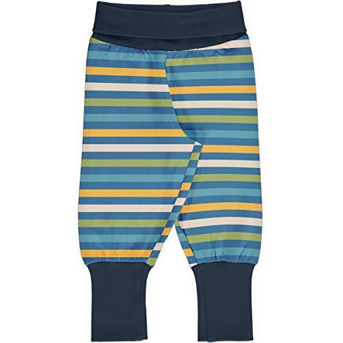 Maxomorra Baby Pants Rib Stripe Stripe - Blossom 62/68