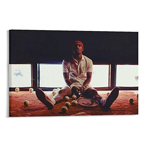 SHUISHOU Helmet Frank Ocean Blonde Posters Channel Orange Print Artworks Picture Print Poster Wall Art Painting Canvas Gift Decor Home Posters Decorative 16×24inch(40×60cm)