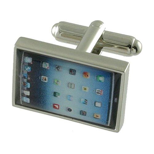 Select Gifts Cuff Links Gemelos~Ipad Tablet PC Cuadro personalizado grabado