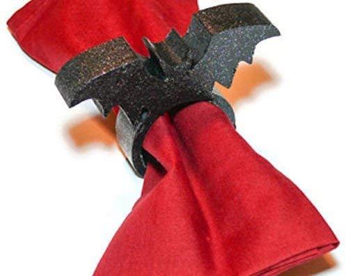 Black Bat Napkin Ring