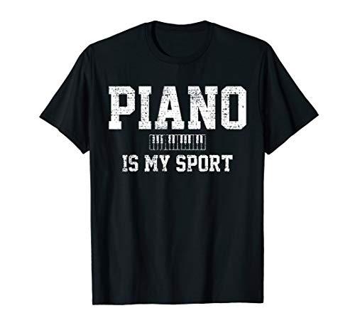 Piano Music Keyboard Musical Instrument T-Shirt