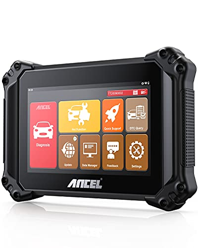 ANCEL V6 PRO OBD2 스캐너 15 리셋 기능이있는 모든 시스템 진단 스캔 도구 오일 RESET ABS BMS DPF EPB SAS TPMS IMMO GEAR OE 레벨 코드 리더 8 ``터치 스크린 WIFI 안드로이드 태블릿