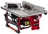 Einhell Sierra circular de mesa TC-TS 200, máx. 800 W, motor de inducción de bajo mantenimiento, Ø200 x ø16 mm hoja, tope en ángulo (+/- 60°), hoja de la sierra puede inclinarse 45°