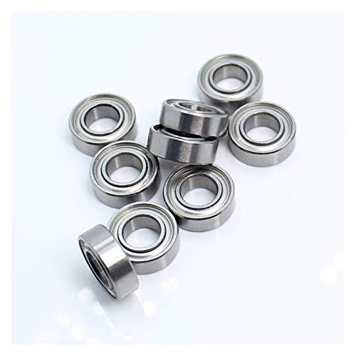 LHHNBY MR126ZZ Handle Bearings 6x12x4 mm Miniature Bearing for Strong Drill Brush Handpiece MR126 ZZ Nail Ball Bearing Deep Groove (Inner Diameter, MR126ZZ 6x12x4mm),MR126ZZ 6x12x4mm insert bearings