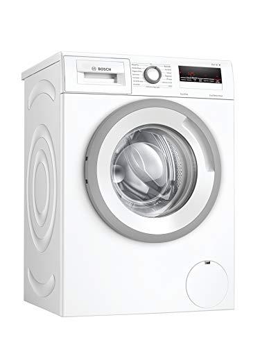 Bosch WAN28242 Serie 4 Waschmaschine Frontlader / D / 69 kWh/100 Waschzyklen / 1388 UpM / 7 kg / Weiß / AllergiePlus / ActiveWater™ Mengenautomatik