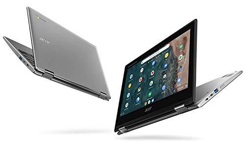 "Acer Chromebook Spin 311 CP311-2H-C3KA Convertible Laptop, Intel Celeron N4000, 11.6"" HD Touchscreen, 4GB LPDDR4, 64GB eMMC, Gigabit WiFi, Bluetooth 5.0 (Renewed)"