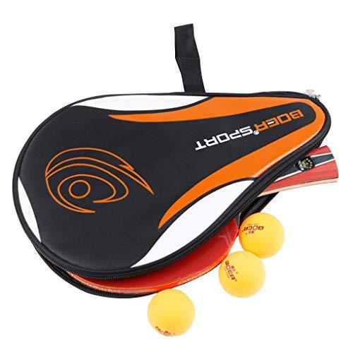 fish Tischtennis-Schläger-Tasche Reißverschluss-Entwurfs-Pingpong-Ball-Schläger Aufbewahrungstasche Trainingssporttasche Show Show