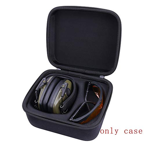 Hart Taschen Hülle für Honeywell 1013530 Howard Leight Impact Sport Ohrenschützer mit Schutzbrille von Aenllosi