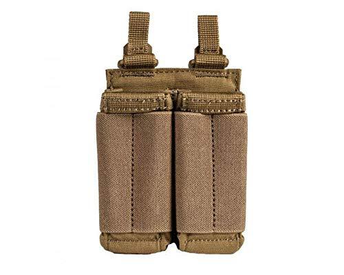 5.11 TACTICAL SERIES Flex DBL Pistol MAG Pouch Poche supplémentaire, 17 cm, Kangaroo
