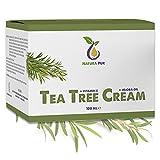 Crema Tea Tree BIO 100ml, vegan - per l'uso su pelle impura, infiammazione...