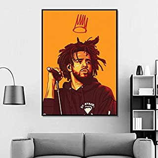 Lazy Wings J Cole Poster J Cole Wall Poster Celebrity Poster Wall Art J Cole Artwork Wall Decor Home Decor Wall Decor Gift for Her (Medium 18x24)