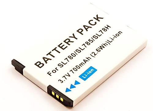 MobiloTec Akku kompatibel mit Gigaset SL450A GO, Telefon/Festnetz Li-Ion Batterie