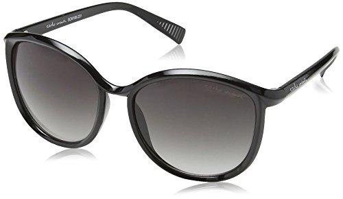 Schöne Marken Sonnenbrille für Damen von Carlo Monti mit 100% UV Schutz   Sonnenbrille mit stabiler Polycarbonatfassung, hochwertigem Brillenetui, Brillenbeutel und 2 Jahren Garantie   SCM106-231