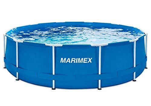 Marimex Florida Piscina per Nuoto I Vasca a Parete in Acciaio per Giardino Senza Accessori I 3,66 x 0,99 m