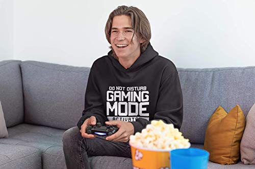 Do Not Disturb Gaming Mode Activated - Unisex Hoodie - Gamer Console cod - Age 9/11 Blue
