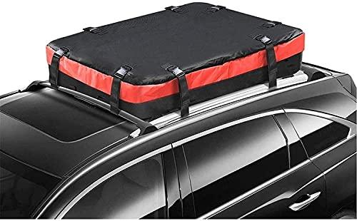 HGFHG Touft Bag Stain, Transporte de Carga Guardaequipaje Travel Taño Impermeable con 8 Correas reforzadas Resistente a la Intemperie Asistente para Uso Pesado