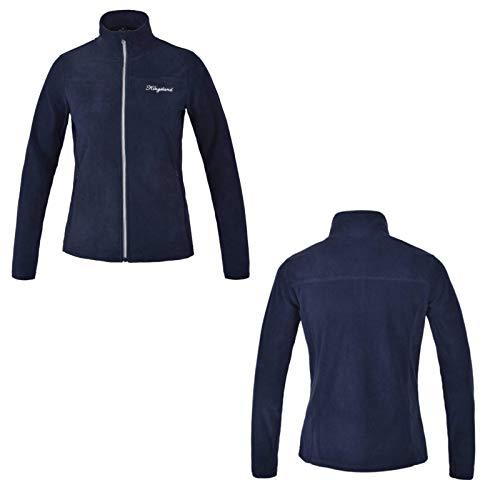 Kingsland KLdanielle Damen Microfleecejacke Navy Fleece Jacke HW 2020/2021 S