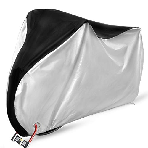 Ohuhu Bike Cover Waterproof Outdoor Bicycle Covers for Mountain and Road Bikes, Rain Sun UV...