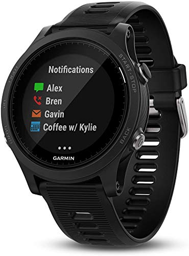 Garmin 010-01746-00 Forerunner 935 Running GPS Unit, Triathlon Watch with Wrist-Based Heart Rate, Black, BROAGE Data Cable