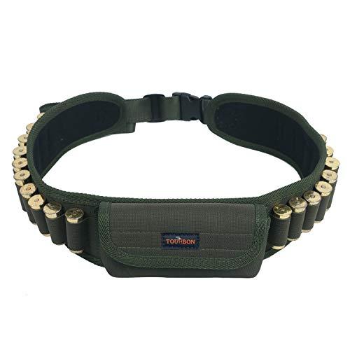 TOURBON Gun Shells 12/16/20 calibre 20 rondas cartucho cinturón con 1 bolsillos