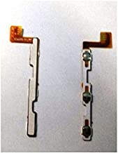 SPAREWARE Power Switch On Off Volume Up Down Button Flex Cable Compatible for micromax a107