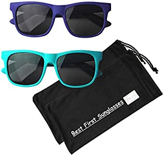 BIB-ON Vintage– Best First Sunglasses for Infant, Baby,...