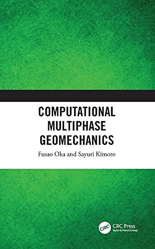 Computational Multiphase Geomechanics Front Cover