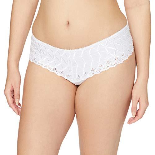 Aubade Braguita para Mujer - modelo: Bahia&Moi Blanco Talla EU: 42 (Talla FR: 4)