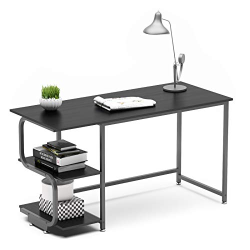 Teraves Reversible Computer Desk For Small Spaces