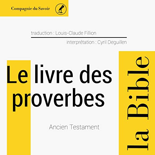 Couverture de Le livre des Proverbes