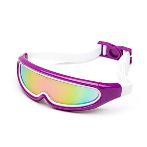 William 337 volwassen zwembril Waterdichte Anti-Fog UV Mannen Vrouwen Sport arena Zwembril