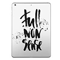 igsticker 第2世代 第3世代 第4世代 iPad 共通 専用 スキンシール apple アップル アイパッド A1395 A1396 A1397 A1416 A1430 A1403 A1458 A1459 A1460 タブレット tablet シール ステッカー ケース 保護シール 背面 016049 英語 文字 おしゃれ