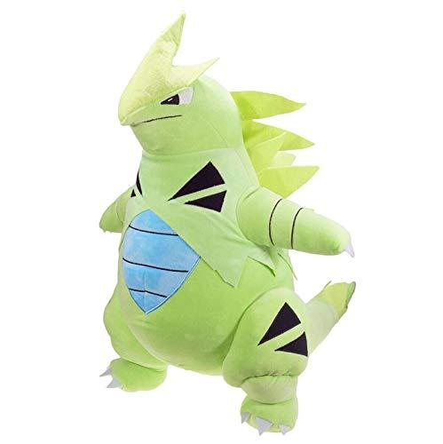fgbv 55Cm Pokemon Plüschtier, Green Tyranitar Gefüllte Puppe Für Kinder Geschenk, Extra Große Gefüllte Puppe Pikachu Kuscheltiere Geburtstagsgeschenk