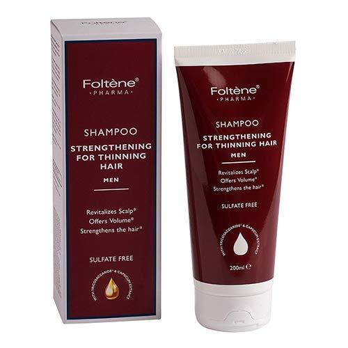 Foltene Shampoo Strengthening For Thining Hair, Men, 6.76oz