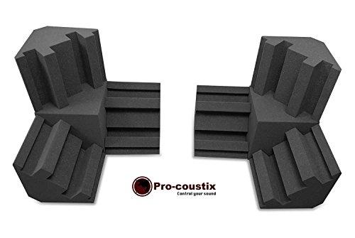 Pro-coustix Ultraflex - Kit de esquina para 300 graves, 6 x 300 + 2...