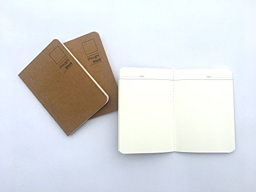 """Thought Block Back Pocket Series (Size 3.5"""" * 5"""" ) - Pack Of 3"""