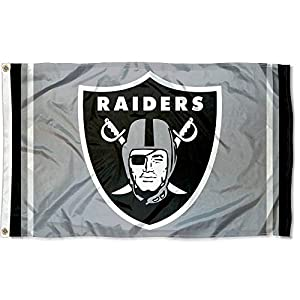 WinCraft Las Vegas Raiders Silver Flag from WinCraft