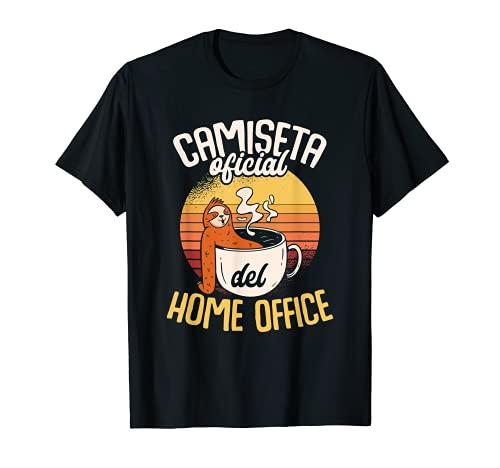 Ser Perezoso Relájate Pereza Home Office Compañeros Trabajo Camiseta