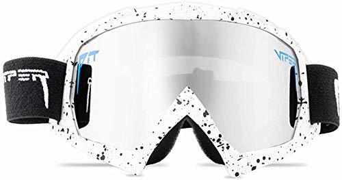 YTRFGH Gafas De Sol Polarizadas Pit Viper Sport Para Hombres Y Mujeres, Gafas A Prueba De Viento Al Aire Libre, Lentes Con Espejo Uv, Gafas Clásicas Vs05