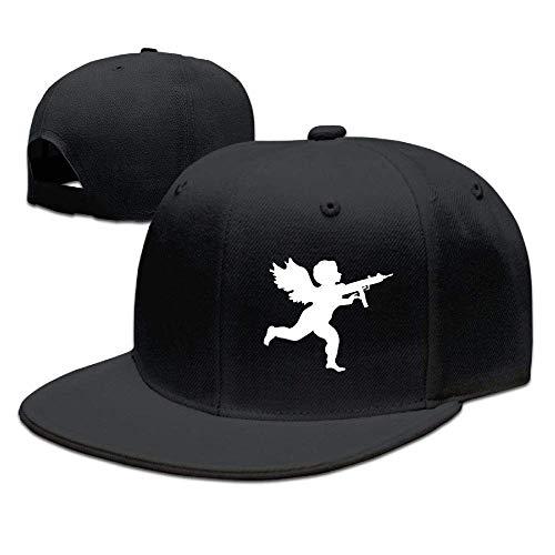 SOTTK Herren Damen Baseball Caps,Hüte, Mützen, Vanilla Ice Cupid Logo Mens Adjustable Baseball Cap Dad Hats
