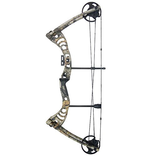iGlow 30-55 lbs God's Country Late Season Camouflage Camo Archery Hunting Compound Bow 175 150 70 55 40 30 lb Crossbow